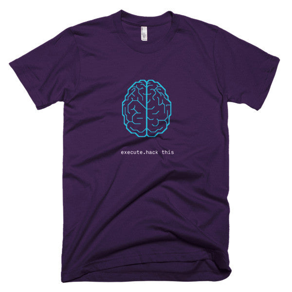 Brain hackable design shirt