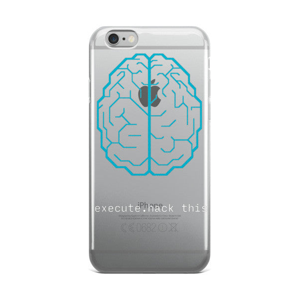 Execute hackable brain iphone case