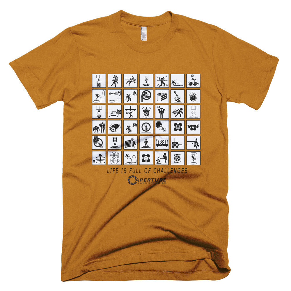 Portal Life is full of challenges t-shirt