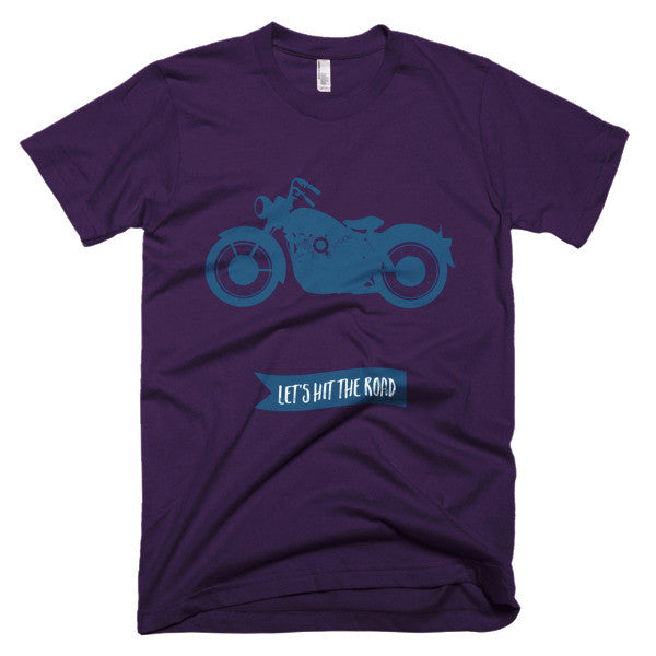 Hit the road motorcycle shirt