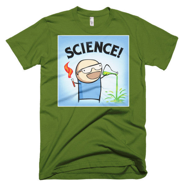 Funny Science comic shirt