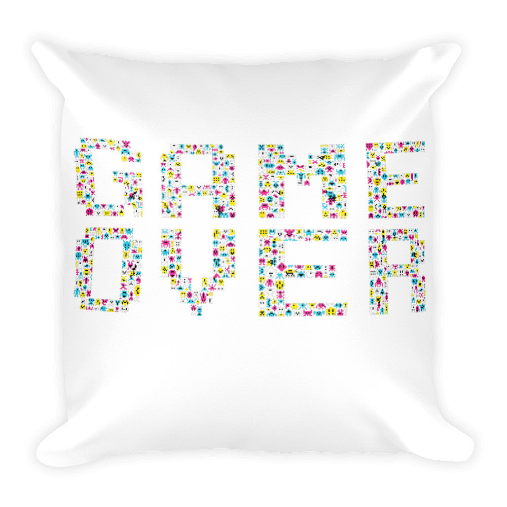 Video game Square Pillow