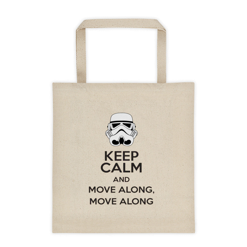 Keep Calm Stormtrooper tote bag