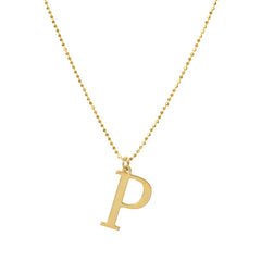 Initial P Necklace- Available Now
