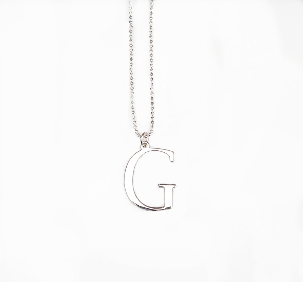 Initial G Necklace- Available Now