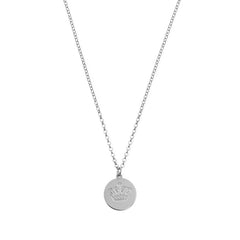 Engraved Charm Necklace