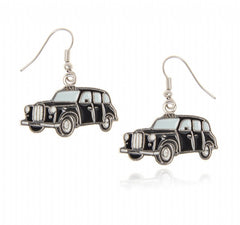 London Taxi Earrings