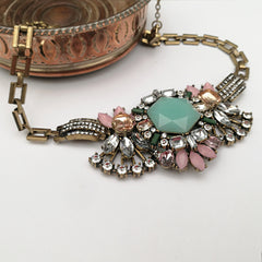 Juliet Crystal Statement Necklace
