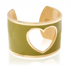 Cut Out Heart Cuff