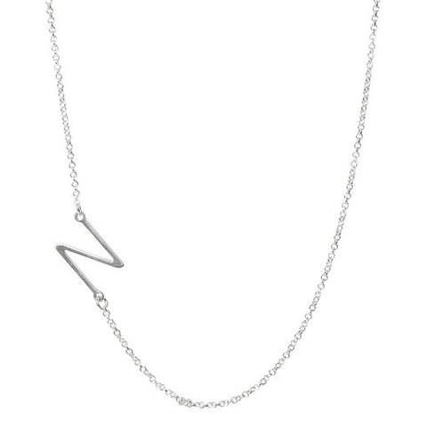 Initial N Necklace- Available Now