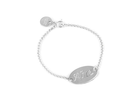 Personalised Baby Name Bracelet