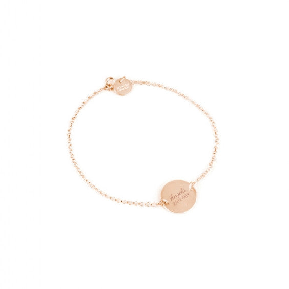 Christening Disc Anklet