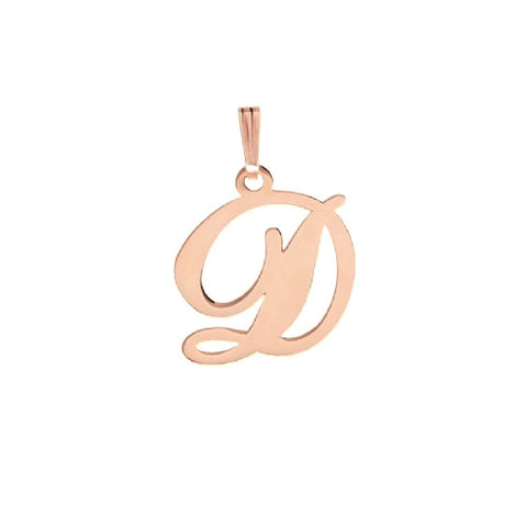 D Alphabet Necklace