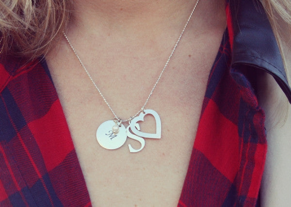 Silver Lining Charm Necklace