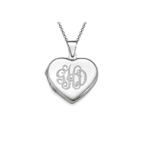Monogram Locket