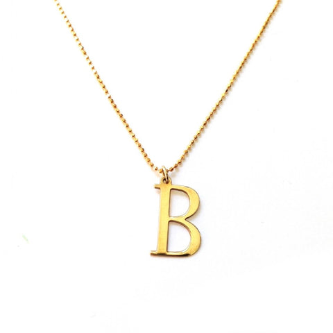 Initial Necklace- Available Now