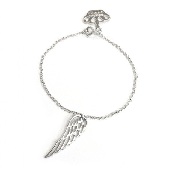 Angel Wing Anklet
