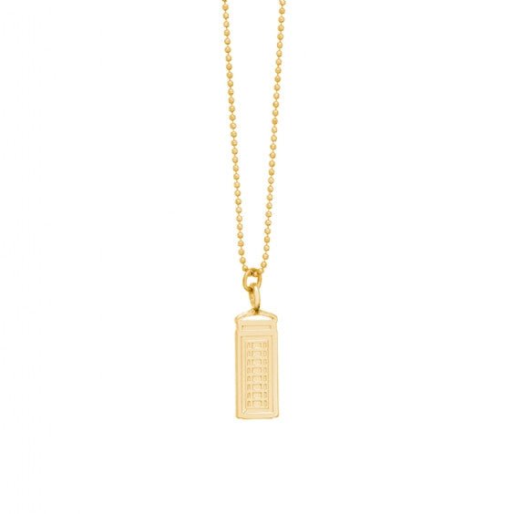 London Phonebox Necklace