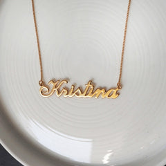 Kristina Name necklace