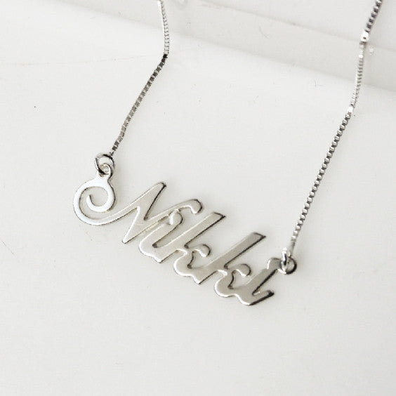 Nikki Name necklace