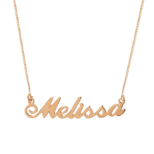 Melissa Name Necklace
