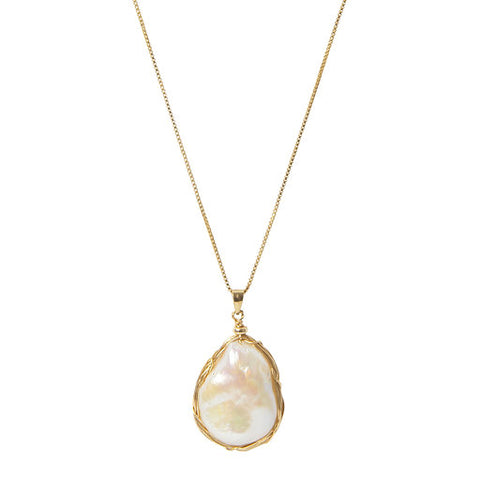 Peardrop Pearl Necklace