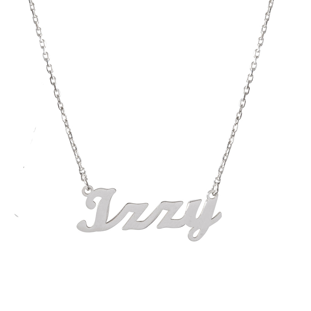 Izzy Name Necklace