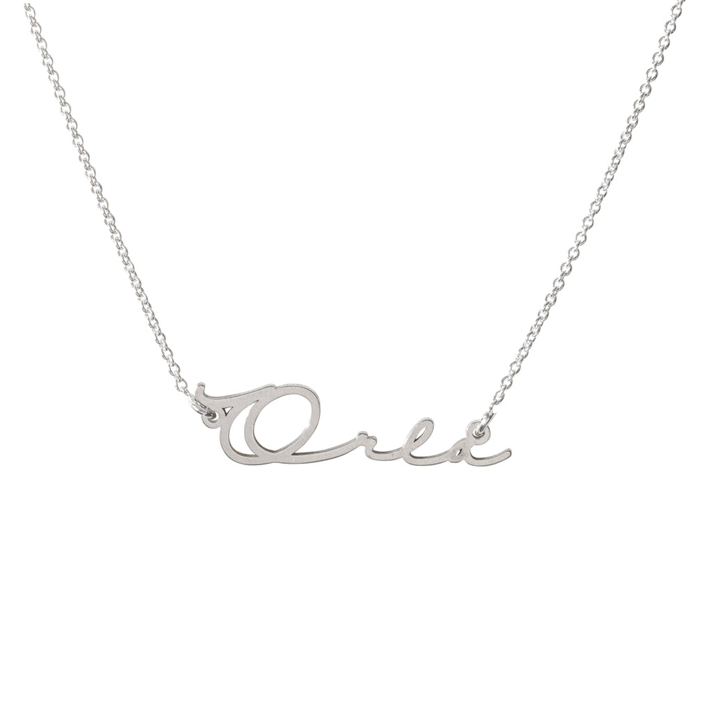 Orla Tiny Name Necklace