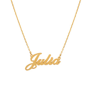 Julia Name Necklace