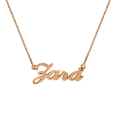 Zara Name Necklace