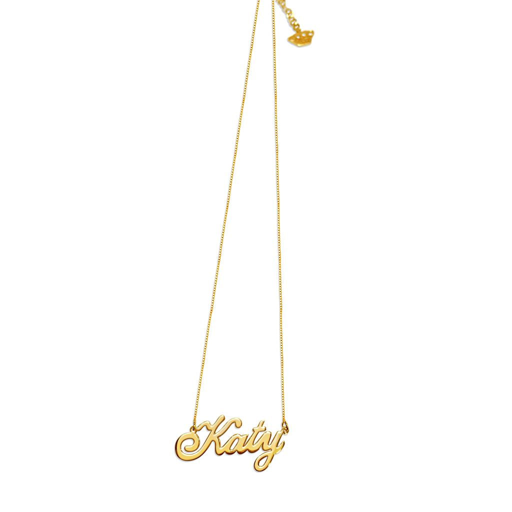 Katy Name Necklace