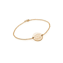 Monogram Disc Anklet