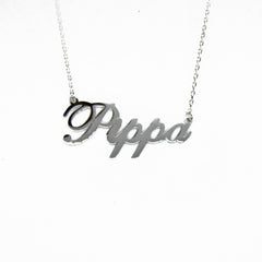 Pippa Name necklace