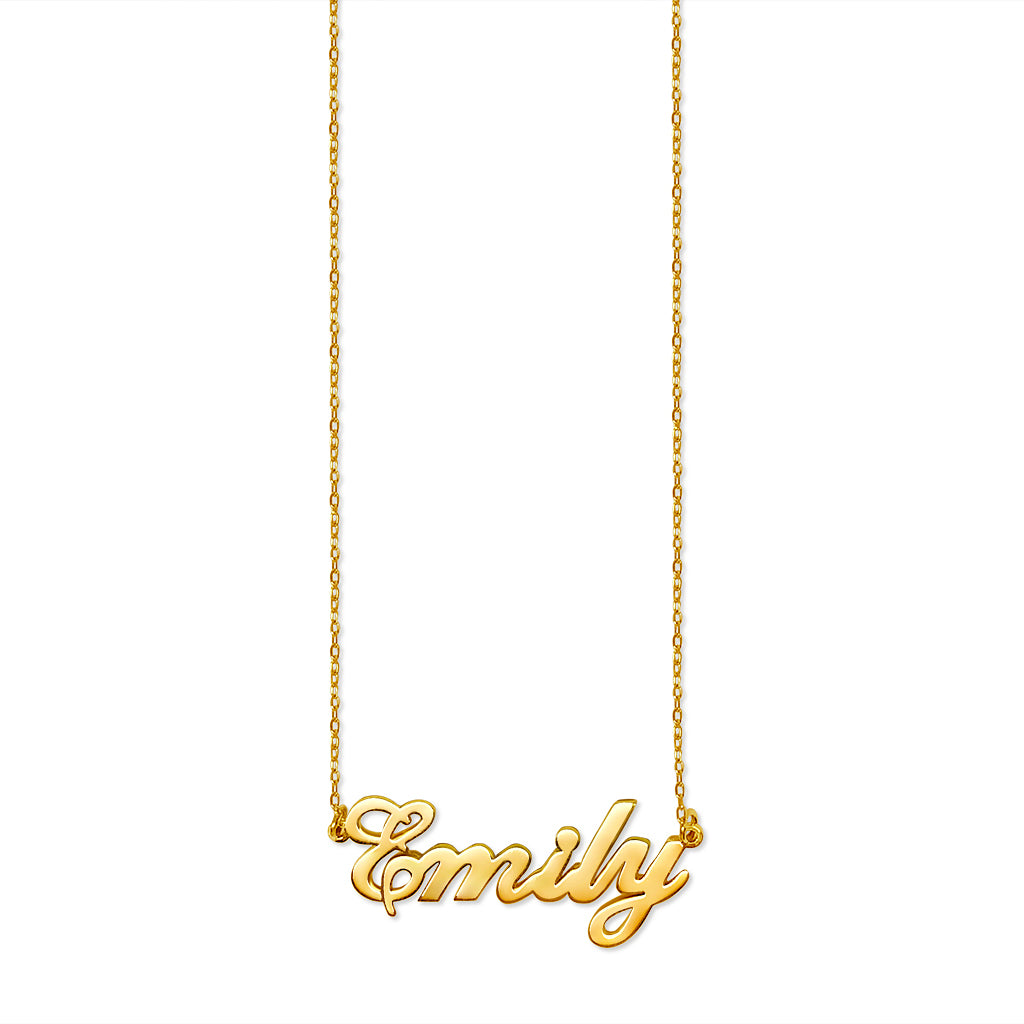 jewellery uk necklace plated gold custom sterling name silver any co numeral roman personalized made bar chains dp amazon