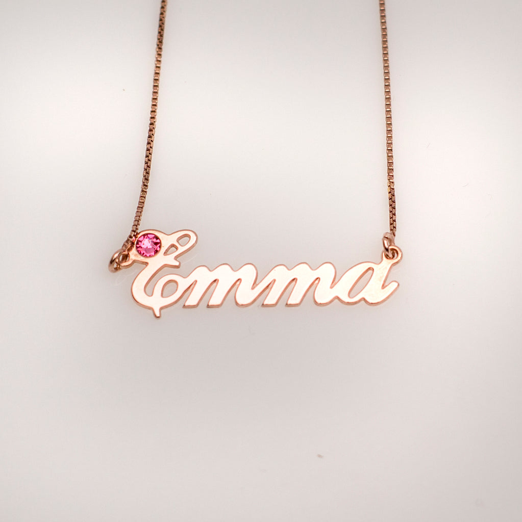 Emma Name Necklace