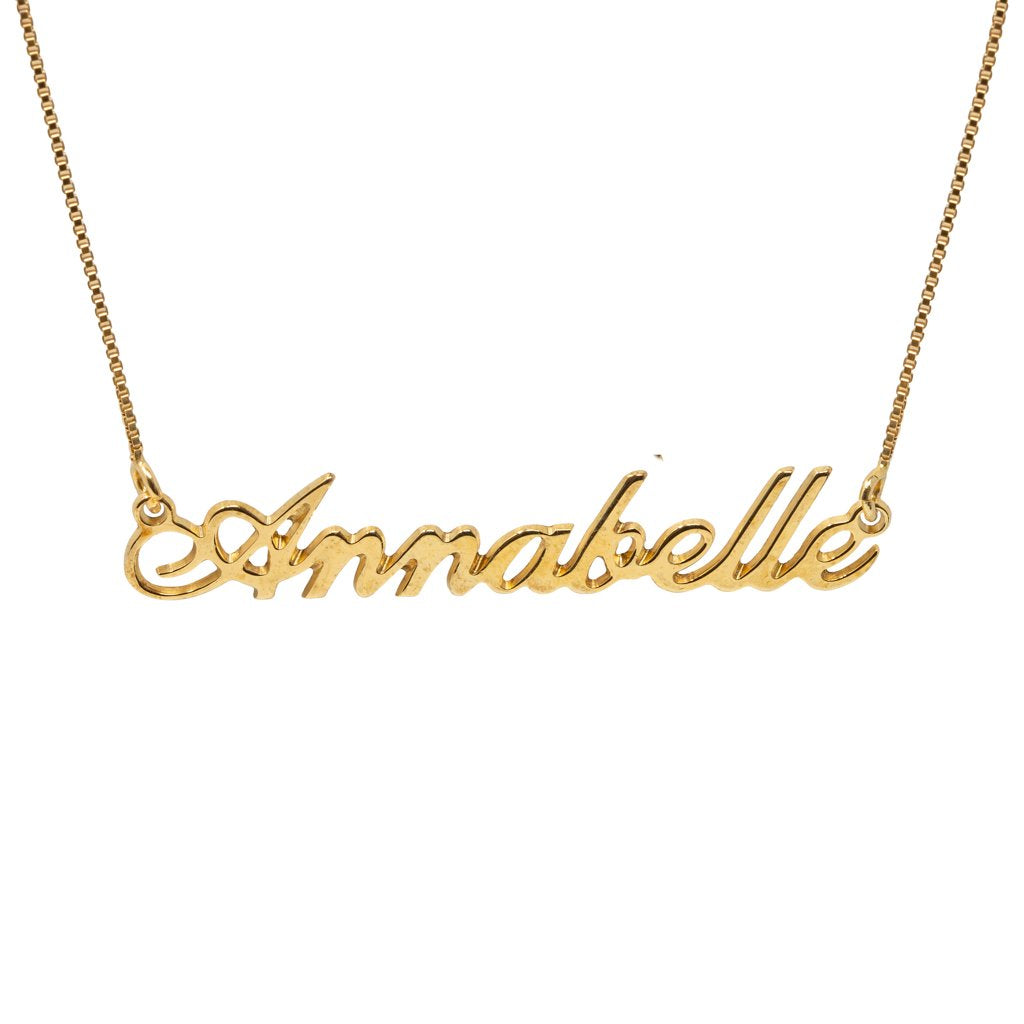 Classic Name Necklaces
