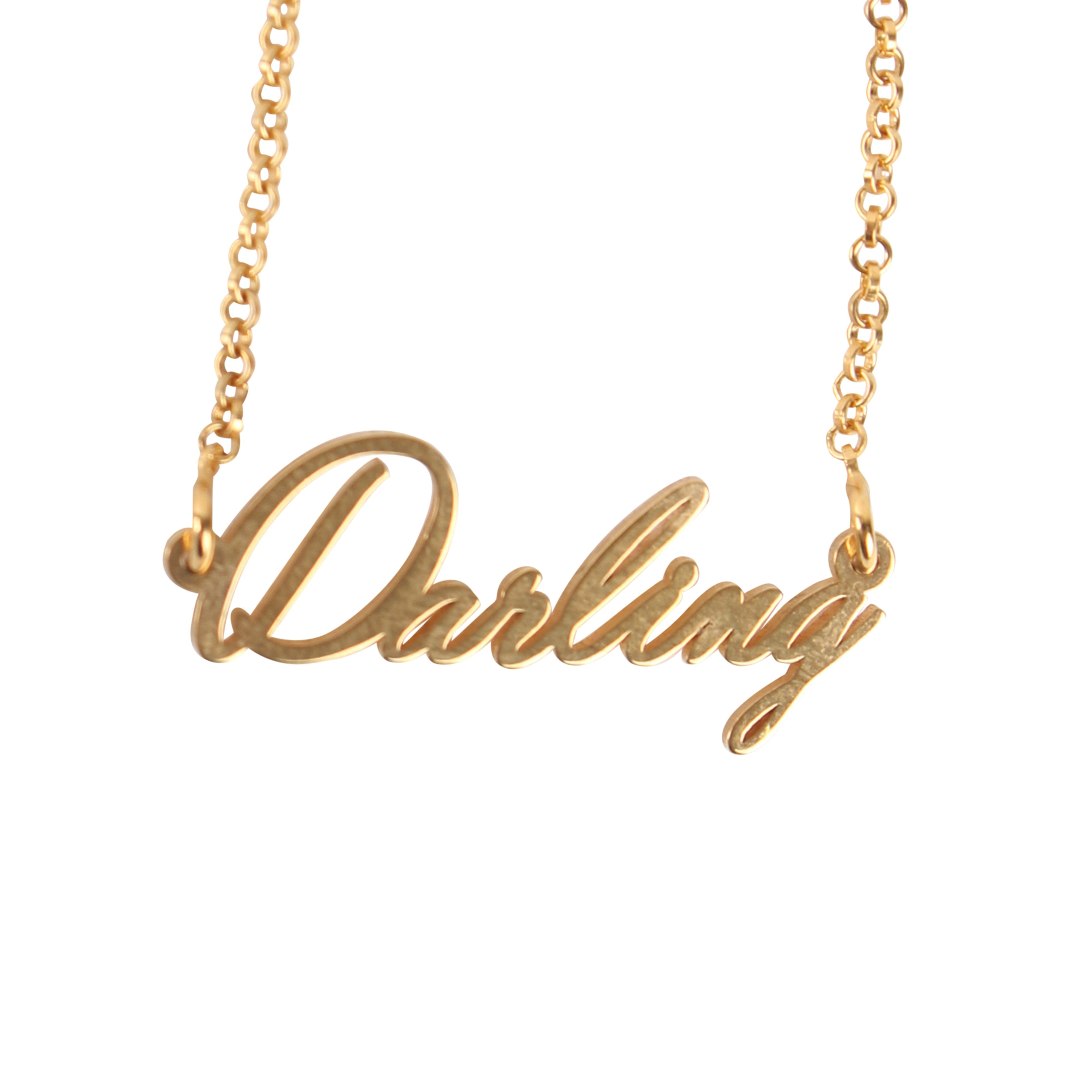 Tiny Name Necklaces