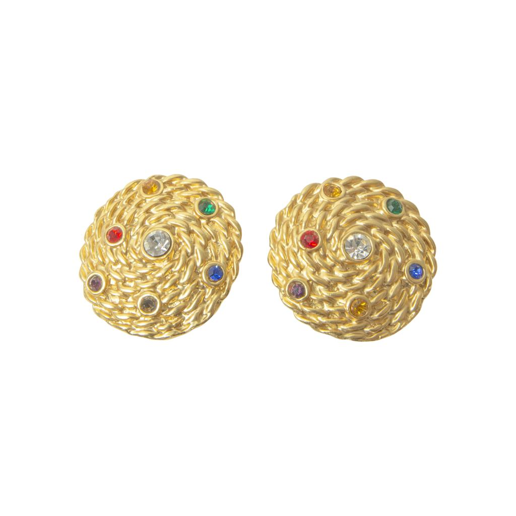 Annie Multi colour Stud Earrings