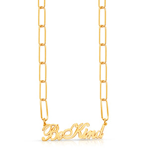 Be Kind Elia Necklace