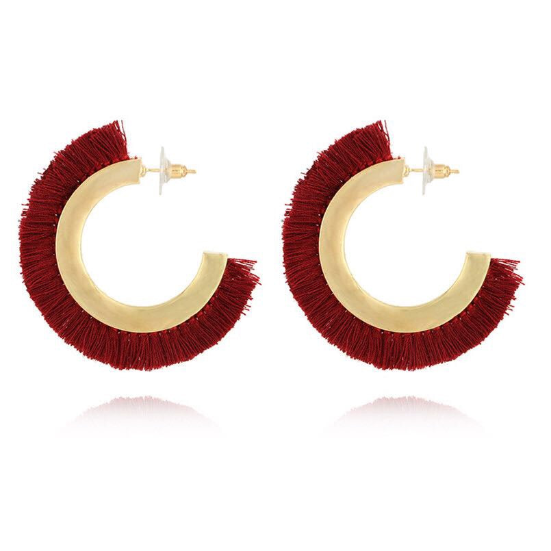 Remi Fringed Earrings