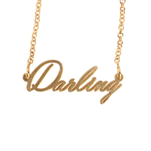 Darling Name Necklace