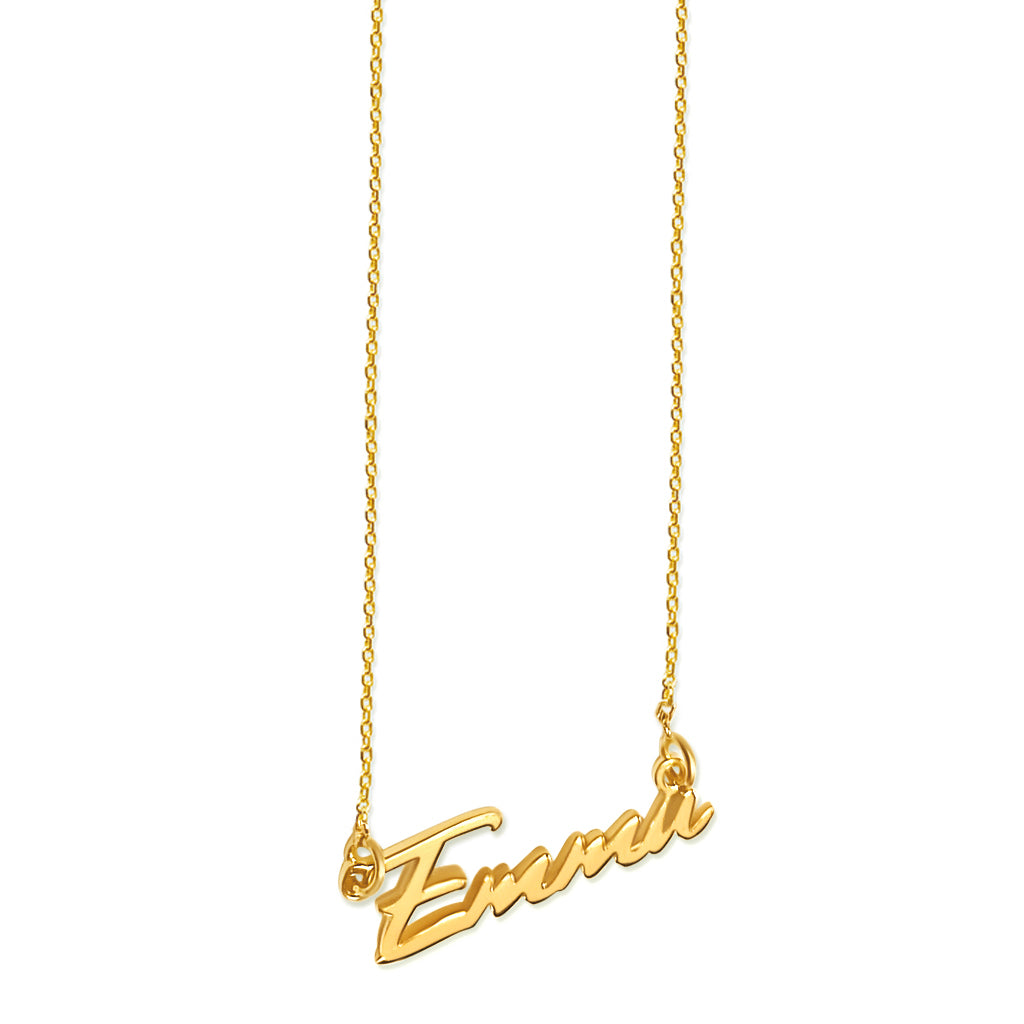 Emma Tiny Name Necklace