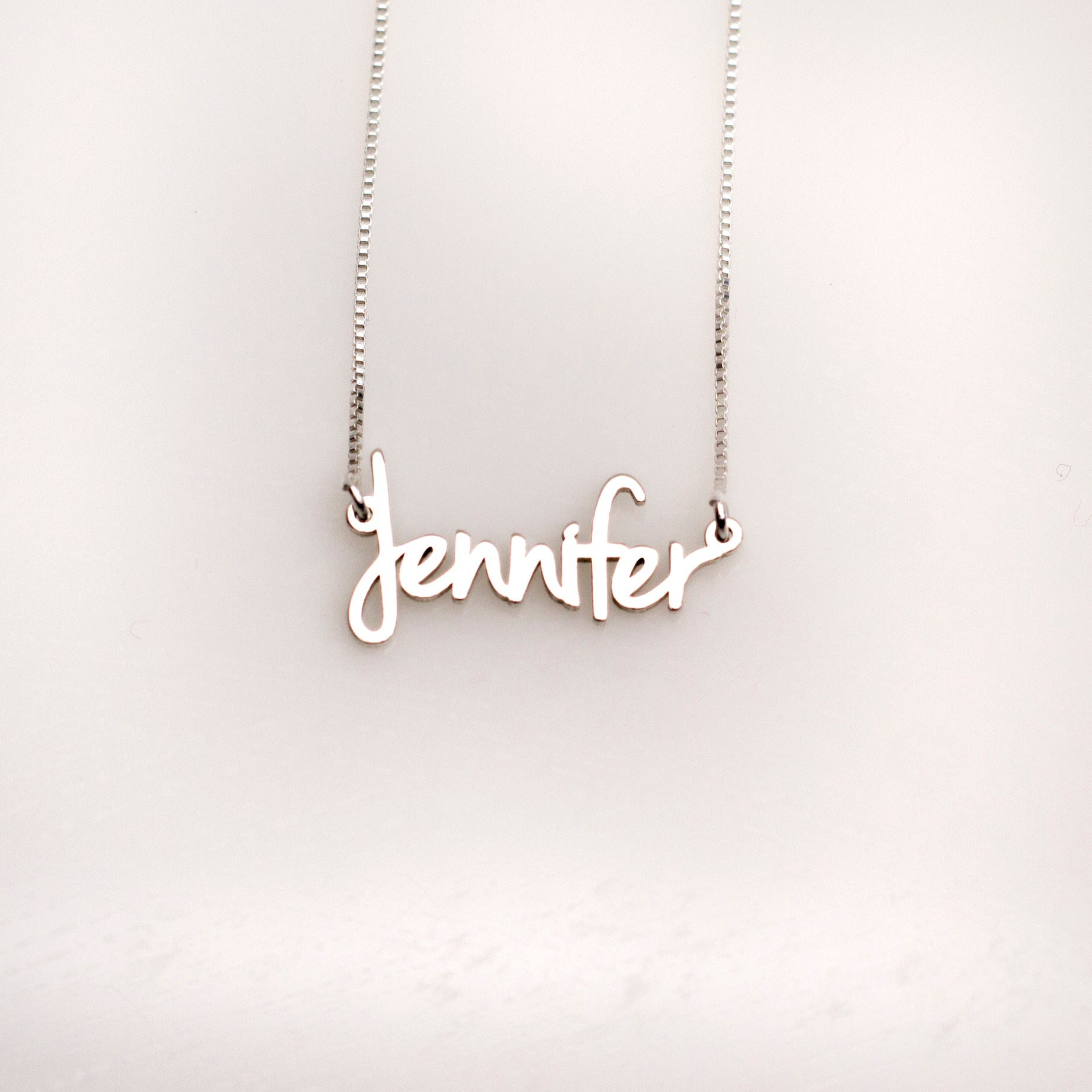 Jennifer Name Necklace
