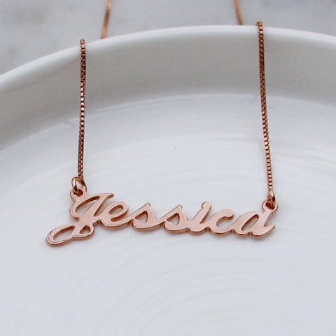 Jessica Name necklace