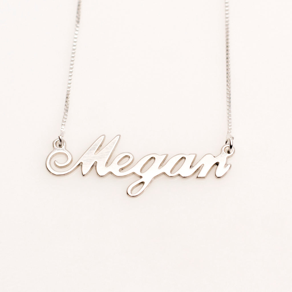 Megan Name Necklace
