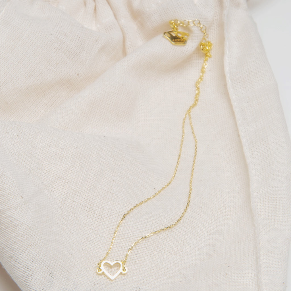 Heroine Heart Necklace