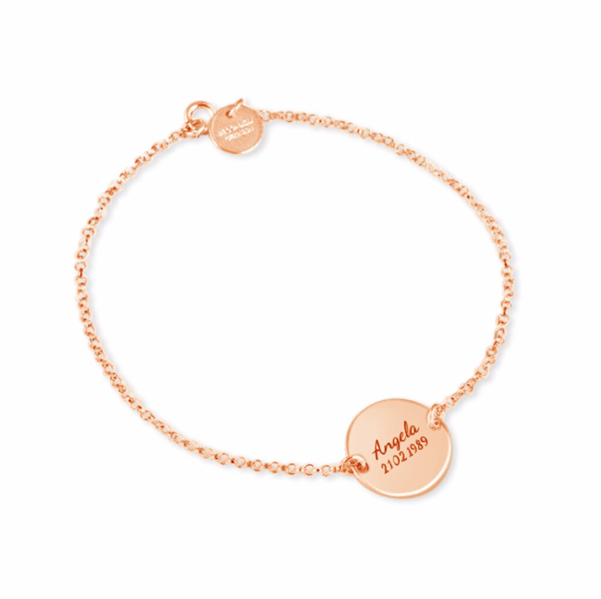 Engraved Christening Bracelet