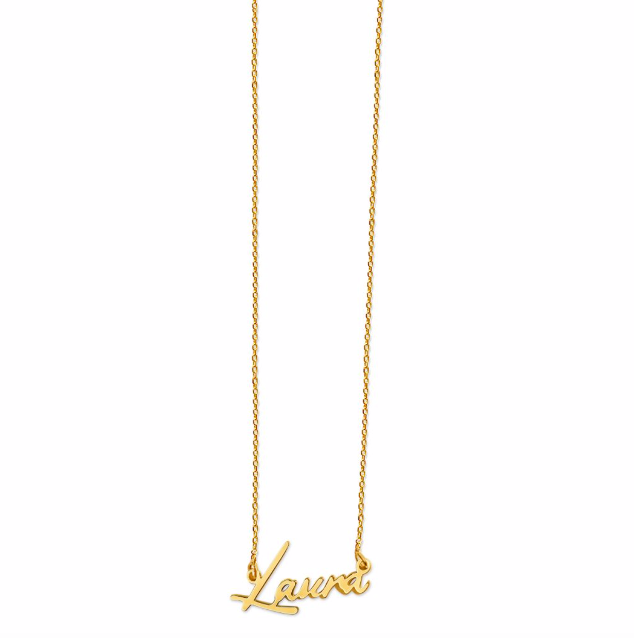 Laura Tiny Name Necklace