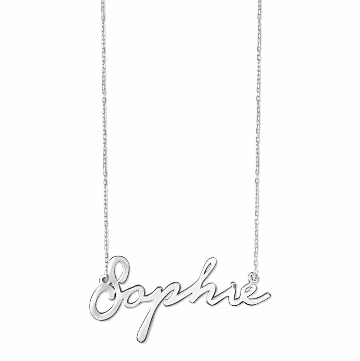 Sophie Handwriting Name Necklace