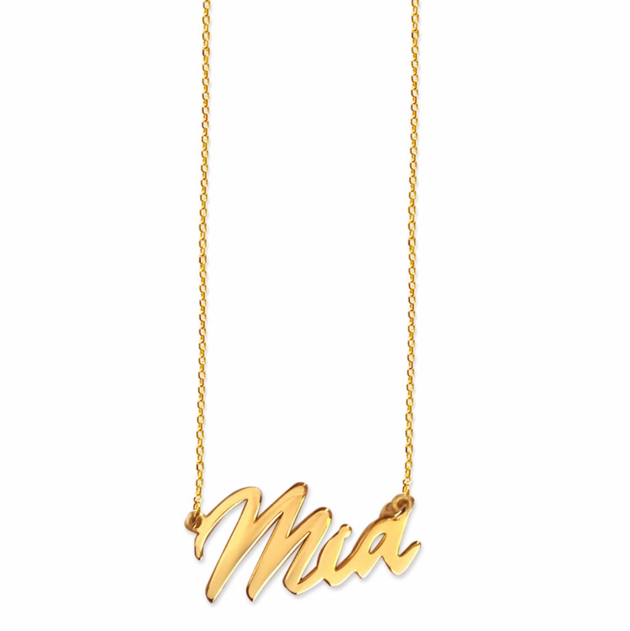 Mia Tiny Name Necklace